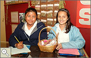 Students in El Rio exhibit