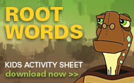 Root Words Kids Activity Sheet